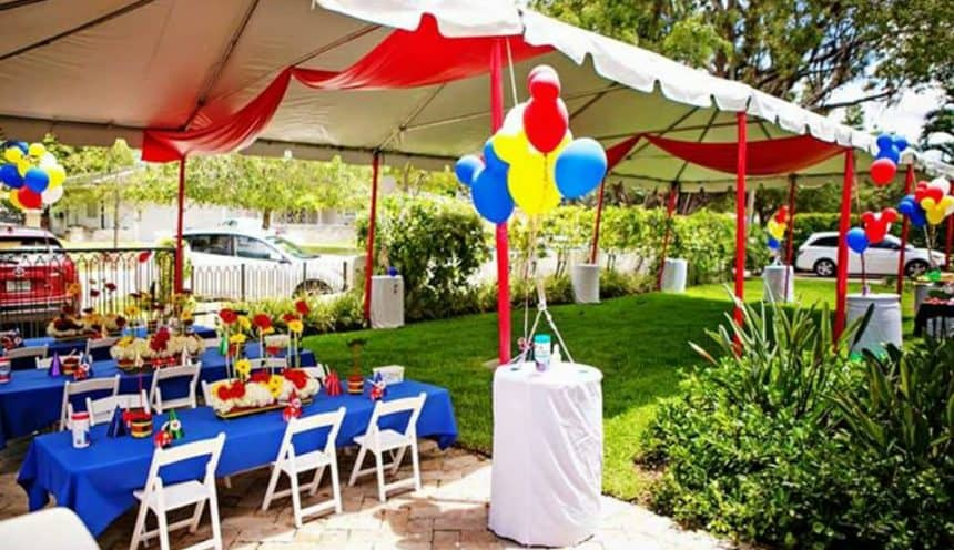 Party Tent Rentals Near Me