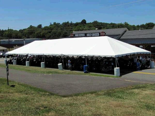 30x90 Frame Tent