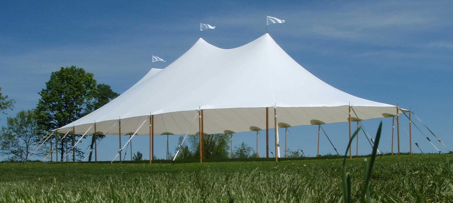 32′×60′ Sailcloth Tent
